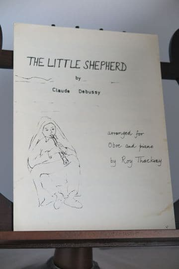 Debussy C - The Little Shepherd for Oboe & Piano arr Thackray R